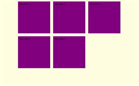 grid layout using flexbox css left aligned and centered grid with flexbox stack