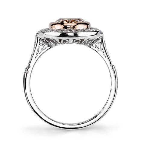 2 carat oval gold platinum engagement ring at 1stdibs