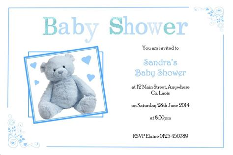 Personalised Baby Shower Invites by Personalised Baby Shower Invitations 10