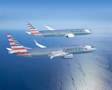 nuff said new american airlines livery seen on 787 dreamliner and 737 max airlinereporter