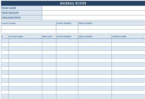 excel templates baseball cards baseball lineup templates excel go search for