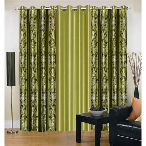 designer window curtains buy set of 3 iws designer quot 7 quot window curtain