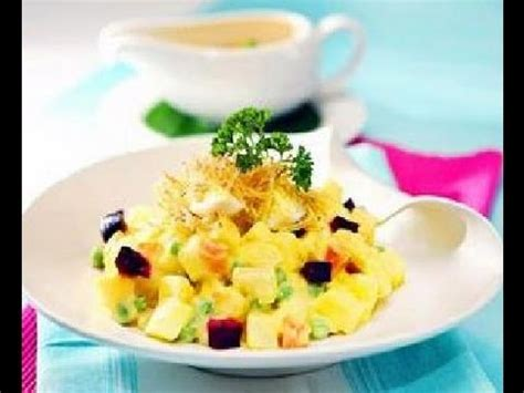 cara membuat salad buah youtube salad huzarensla resep salad huzarensla huzaren sla