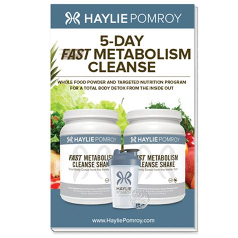 5 Day Fast Forward Detox by Fast Metabolism Cleanse 5 Days Haylie Pomroy