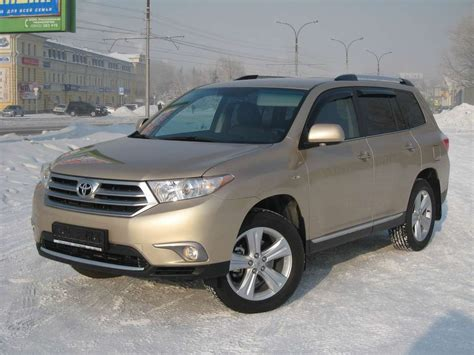 2010 Toyota Highlander Used 2010 Toyota Highlander Photos 3500cc Gasoline