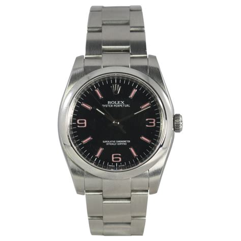 rolex pre owned mens oyster perpetual 116000