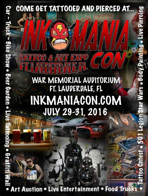 tattoo expo florida 2016 ink mania con tattoo eye on south florida