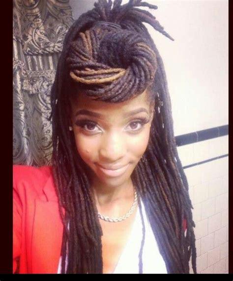 dreadlock swoop hairstyles 2014 217 best hair styles for locs dreadlocks braids