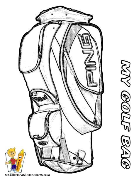 golf coloring book pages golf coloring pages google search barnamyndir til a 240