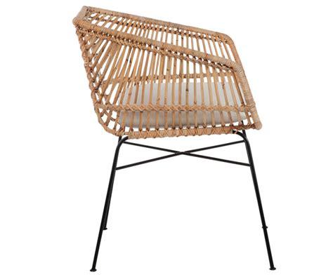 sedie in rattan sedia siva in rattan naturale duzzle
