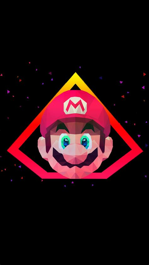 super mario  poly artwork wallpapers hd wallpapers