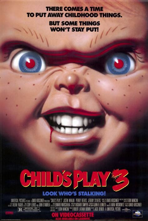 chucky movie child s play child s play 3 movie posters from movie poster shop