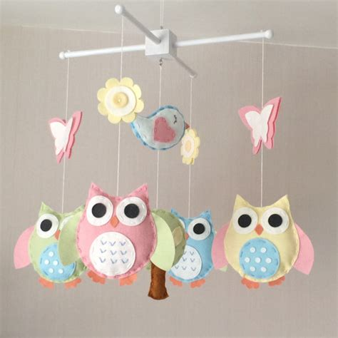 Owl Baby Mobiles Crib by Baby Mobile Owl Baby Mobile Cot Mobile Baby