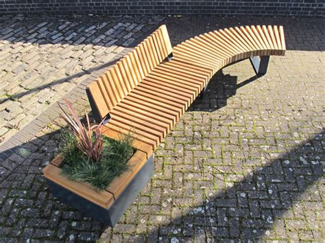 planter bench seat railroad planters with bench seating timber planters