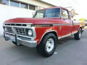 1976 Ford F250 1976 Ford F250 Ranger Xlt 2wd 460 V8 Bed Automatic 76