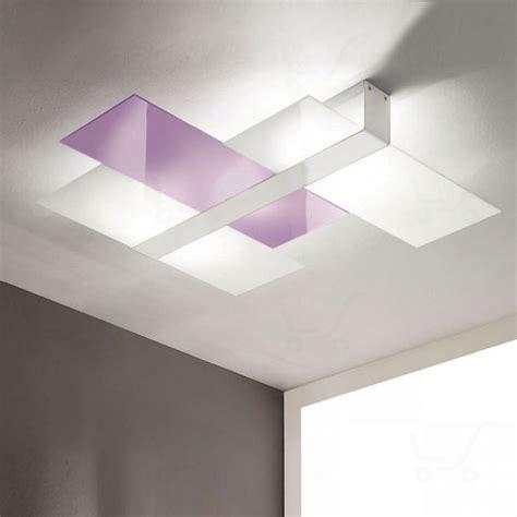 plafoniera moderna soggiorno linea light triad plafoniera soffitto tre vetri s