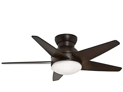 What Do Ceiling Fans Do by Casablanca 59020 Brushed Cocoa Isotope 44 Quot 5 Blade Flush Mount Ceiling Fan Blades And Light