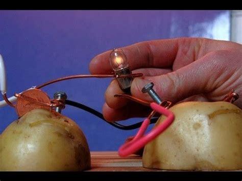 Potato Light Bulb by How To Power A Lightbulb With A Potato