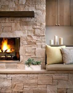 Fireplace Seating by Neat Fireplace Idea With Bench Seating