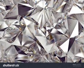 3d abstract crystal clear background texture stock