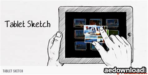 tutorial sketchbook tablet tablet sketch after effects project videohive free