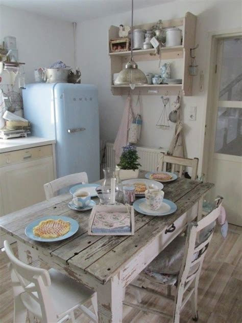 34 charming shabby chic kitchens you ll never want to