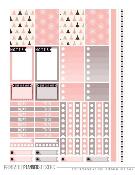 free printable planner pages classic size 796 best paper stickers images on pinterest happy