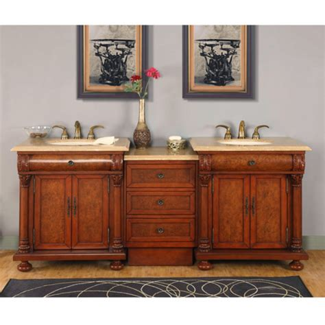 82 5 inch light brown sink vanity with led lighting