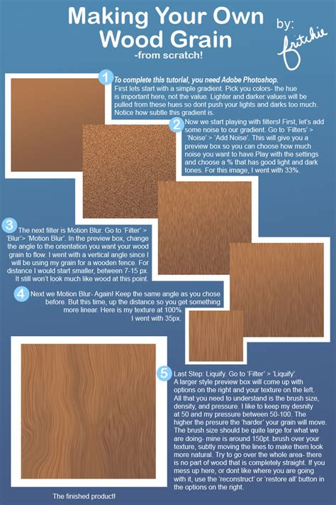 Create Your Own Custom Wood - make your own wood grain by fritchie on deviantart