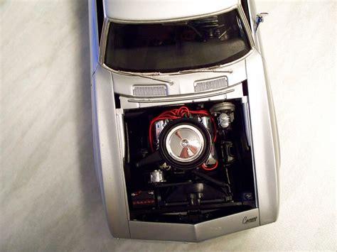 Cs 80135 Black 69 camaro zl 1 phantom scale auto magazine for building plastic resin scale model cars
