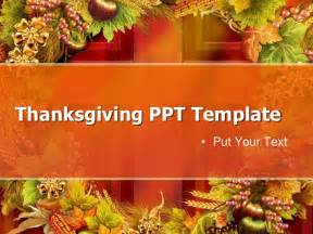 Thanksgiving Powerpoint Template by Free Thanksgiving Day Powerpoint Template 1