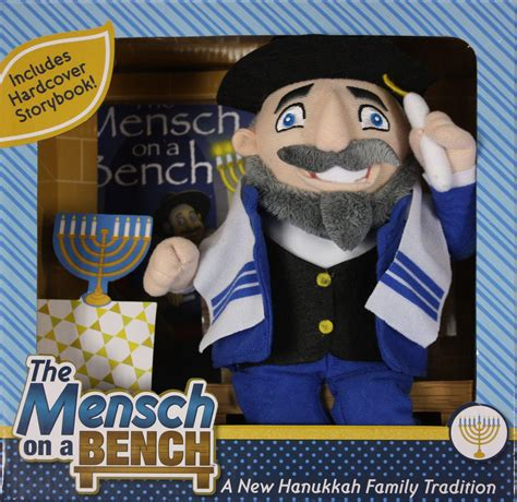 chabad benching meet mensch on a bench jewish counterpart to elf on the shelf wwno