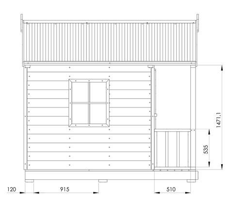 Snow Gum Cubby House Australian Made Backyard Playground Diy Cubby House Plans