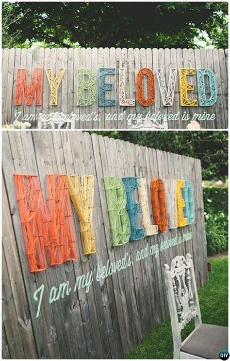 decorate backyard fence backyard garden fence decoration makeover diy ideas