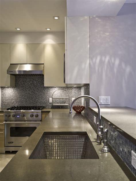 Metal Tile Backsplash Kitchen Gold Stainless Steel Tiles