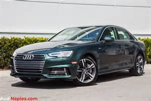Average Of Audi A4 Gotland Green Audi A4 Is Not For Your Average Cement Salesman