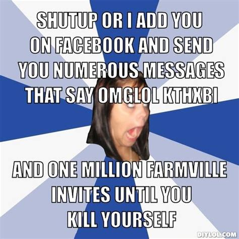 Facebook Girl Meme - meme annoying facebook girl image memes at relatably com