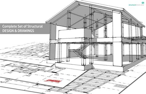 structural house design complete structural design drawings of a reinforced concrete house