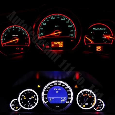 Led Instrument Panel Lights by 10x Wedge Base Led Illumination Instrument Panel Light