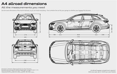 Audi A6 Size Dimensions by Audi A4 Allroad Quattro Audi Uk