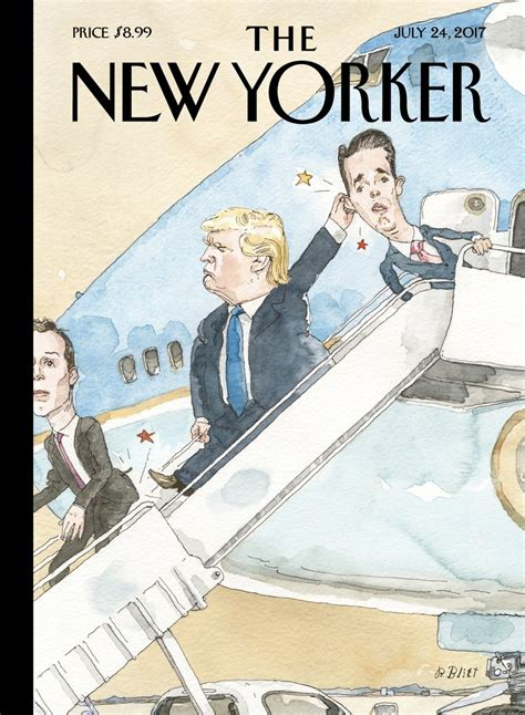 New Yorked by Cover Story Barry Blitt S Grounded The New Yorker