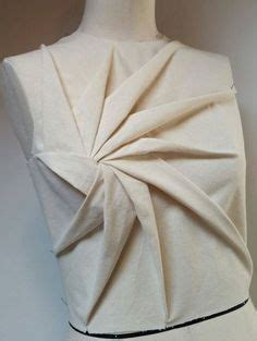 advanced draping techniques heart vortex bodice fabric manipulation inspired by