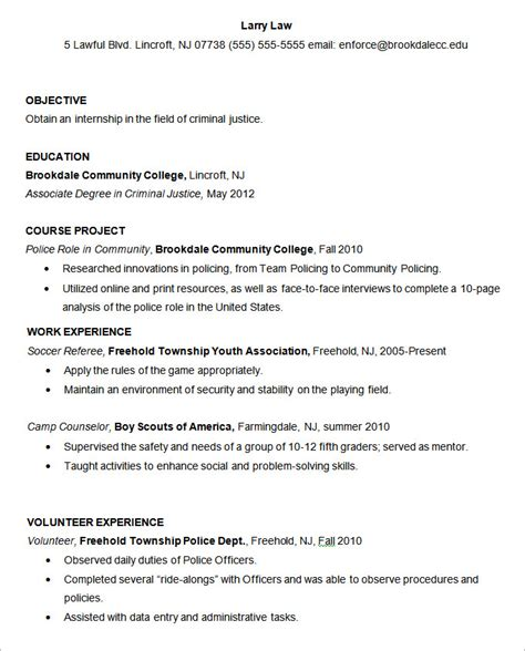 resume templates 127 free sles exles format