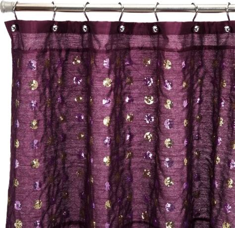 shower curtain with sequins popular bath sequins shower curtain purple