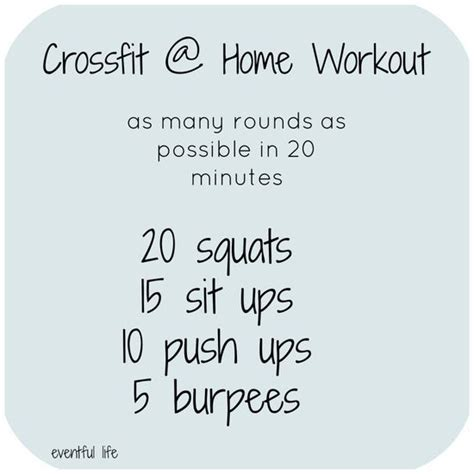 best 25 beginner crossfit workouts ideas on