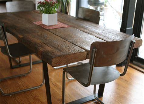 narrow dining room tables reclaimed wood alliancemv