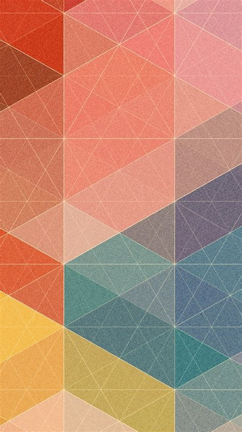 pattern pastel hd polygon triangles pastel pattern iphone 6 wallpaper