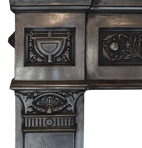 Iron Fireplace Surround by Cast Iron Fireplace Surround For Sale At 1stdibs