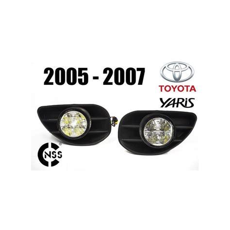 Lu Led Mobil Yaris faros luz diurna led toyota yaris 2005 2007