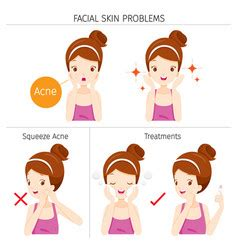 skin problems treatments washing stock vector royalty free 623665466 skin problem vector images 530
